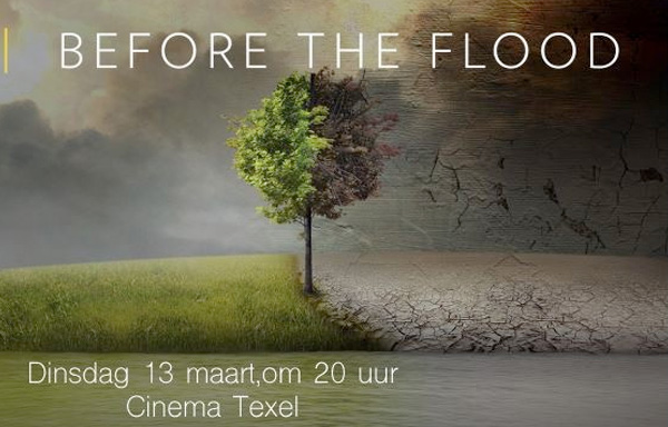 Gratis naar klimaatfilm 'Before the flood' [2018]